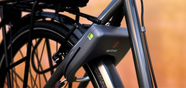 sentinel fietsslot met GPS